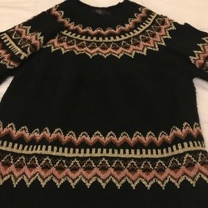 Sweaters - Black Vegan 🌱 Wool Hippiechic Sweater